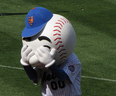 sad mr. met